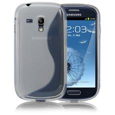 Cover S-Line Trasparente per Samsung Galaxy S3 Mini i8190 i8200