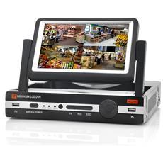 DVR 8 canali con monitor 7 pollici