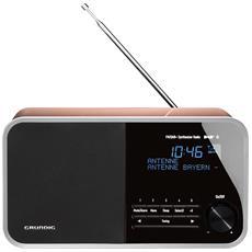 Radio Digitale DTR 4000 Bluetooth Sintonizzatore DAB+ / FM Ingresso AUX Colore Nero e Oro Rosa