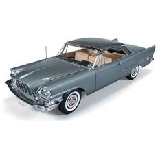 Amm1005 Chrysler 300c 1957 Grey Metallic 1:18 Modellino
