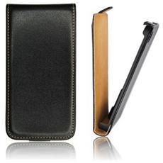 Flip Case Cover Forcell Slim Per Samsung Galaxy S5 G900 Nero