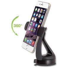 I-SMART-VENT51 - Supporto da Auto per iPhone e Smartphone 3.0'-6.0' con Ventosa