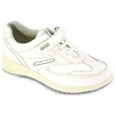 Scarpe Bianco Bambino Pelle 48700 30