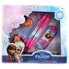 stationery set 'frozen - ' rosa (7 parti) - [ m3046]