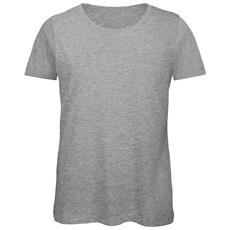 Favourite Maglietta Girocollo A Manica Corta In Cotone Biologico Donna (xl) (grigio Sport)