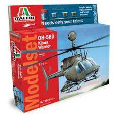 Model Set Oh-58d Kiowa Warr. 1:72