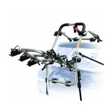 Portabici posteriore universale Firenze in alluminio 3 bici
