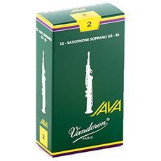 Java Scatola da 10 Ance per Sassofono Soprano N. 2