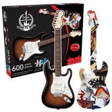 Fender Shaped Double Puzzle Stratocaster Puzzle