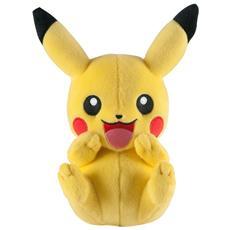 Pupazzo Peluche Pokemon New Pose of Pikachu 20 Cm