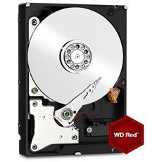 """Hard Disk per NAS WD Red 10 TB 3.5"""" Interfaccia Sata III 6 Gb / s Buffer 256 Mb IntelliPower"""