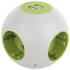 Presa a sfera Powerglobe con USB