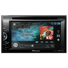 Sintomonitor DVD AVH-X1600DVD Display 6.1'' MP3 / WMA / AAC Potenza 4 x 50 Watt Compatibile Apple