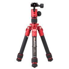 Treppiede con Testa a Sfera Altezza Max 61 cm Rosso e Nero A0320Q00R-EU