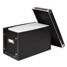 Porta CD Media Box per 150 CD / DVD Nero