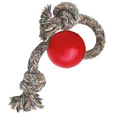 Palla con corda perfetto per la dentizione dei cani