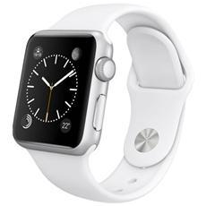 Cinturino WristBand in silicone per Apple Watch da 38mm - Bianco