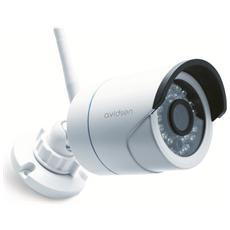 Telecamera Ip Wifi 720p, Esterno, Led Infrarossi