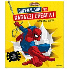 Superalbum per ragazzi creativi. Ultimate Spider-Man. Gioca, crea, scopri! Con adesivi. Con gadget