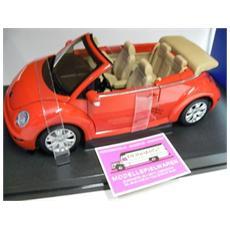 79754 Vw New Beetle Cabrio Orange 1/18 Modellino