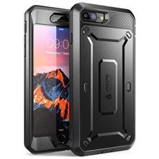 Custodia Iphone 7 Plus, [ unicorn Beetle Pro] Protezione Robusta Con Plastica Rigida [ Shock Reduction ] E Protezione Dello Schermo - Include Holster Clip Da Cintura (Nero)
