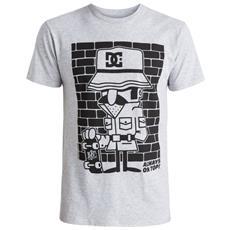 T-shirt Uomo 123 Istigate L Grigio Nero