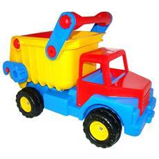 Wader Camion Con Cassone Ribaltabile Gigante 74x43x53 Cm 1450526