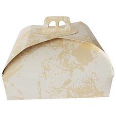 Scatola Torta Quadrata 33x33 Cm In Carta 1 Pz