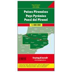 Paesi dei Pirenei 1:400.000