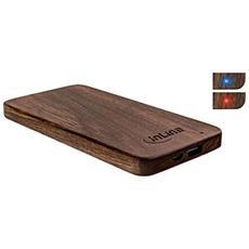01478S Polimeri di litio (LiPo) 5000mAh Legno batteria portatile