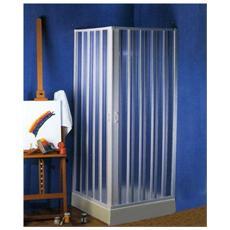 BOX DOCCIA 2 Ante Scorrevoli Mod. GIOVE Apertura Centrale 75-90X75-90 cm H185 cm
