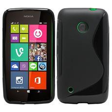 Cover S-Line Nero per Nokia 530