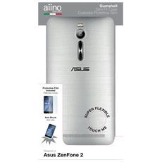 Custodia Gumshell per Asus ZenFone 2 5.5 pollici - Clear