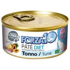 Forza10 Gatto, Dieta Tonno Pate' Gr. 170