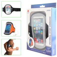 """Fascia Da Braccio Universale Per Smartphone Da 3.5"""" A 5.0"""" Universal Sport Armband"""