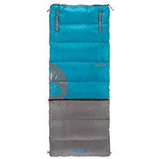 Walkaround Mobile Adulto Rectangular sleeping bag Poliestere Blu, Grigio
