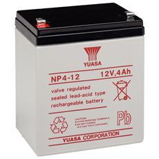 IBT-PS-NP412 - Batteria Piombo-Acido per UPS 12 V 4 Ah, NP4-12
