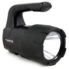 Torcia Indistruttibile con LED 3 Watt e 4 Batterie Torcia