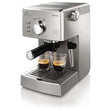 HD842711 Macchina per Caffè Poemia Top SS Potenza 950 Watt Capacità 1 Litro Colore Acciaio