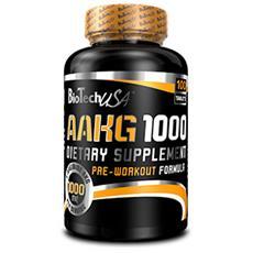 Integratore Alimentare di Aminoacidi per Sportivi AAKG 1000 100 TAV