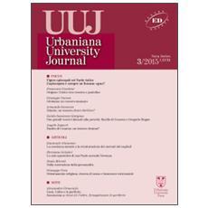 Urbaniana University Journal. Euntes Docete (2015) . Vol. 3: Focus: figure episcopali nel tardo antico. L'episcopato è sempre un bonus opus? .