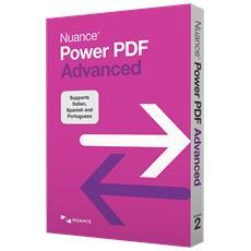 NUANCE - Power PDF 2.0 Advanced per Windows Box Full 1...