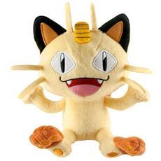 Pupazzo Peluche Pokemon Meowth 20 Cm
