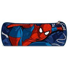 Astuccio Tombolino Spiderman Uomo Ragno Marvel Blu Bambini Scuola Elementari