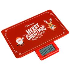 "AKS300C Bilancia Digitale ""Merry Christmas"" Portata massima 5Kg"