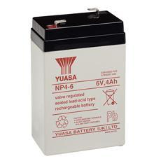 IBT-PS-NP46 - Batteria Piombo-Acido per UPS 6 V 4 Ah, NP4-6