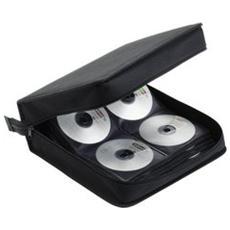 Custodia 208 Cd / Dvd In Nylon Con Cerniera