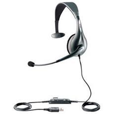 Cuffie Jabra UC Voice 150 CavoMono - Over-the-head - Semi-Aperto - 6 Hz - 6,80 kHz - USB
