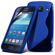 Cover S-Line Blu per Samsung Galaxy Core Plus G350