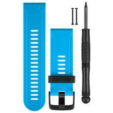 Cinturino in silicone per Fenix 3 colore Blu